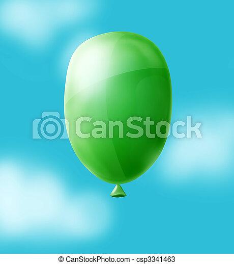 ballon in sly - csp3341463