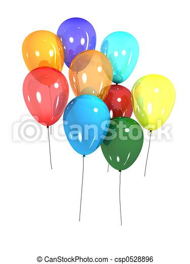 ballons - csp0528896