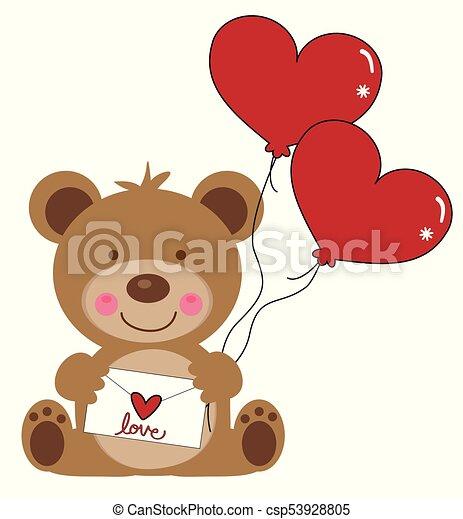 Balloon Dia Dos Namorados Urso