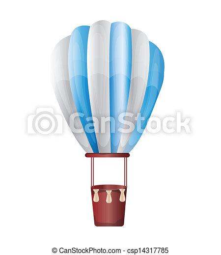balloon, hete lucht - csp14317785