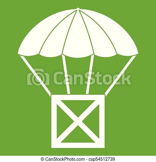 Balloon icon green - csp54512739