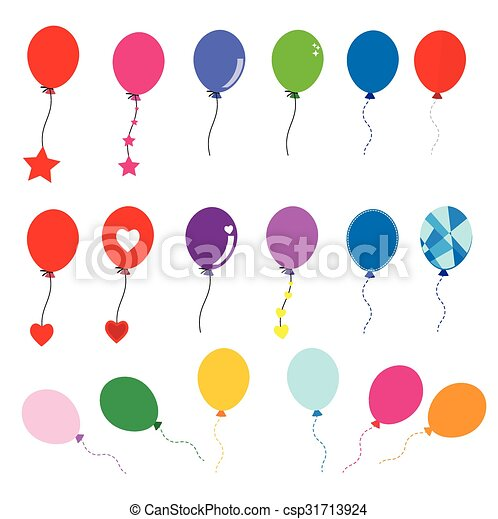Balloon vector - csp31713924