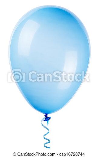 balloon, voando, isolado - csp16728744