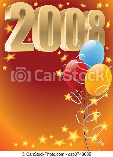 Balloons 2008 - csp0743685