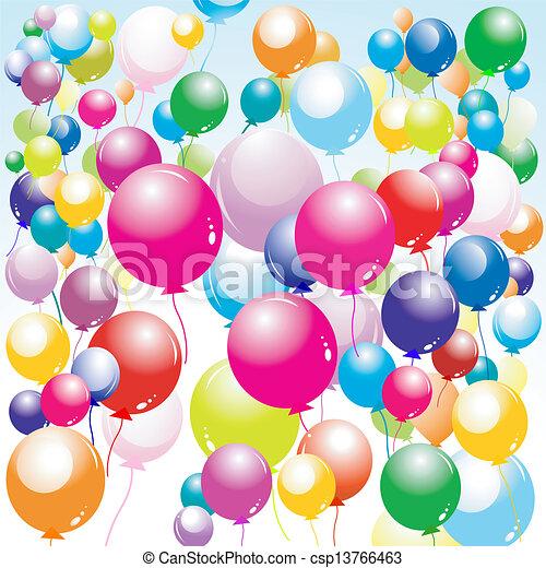 balloons  - csp13766463