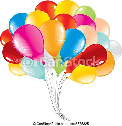 Balloons - csp6575325