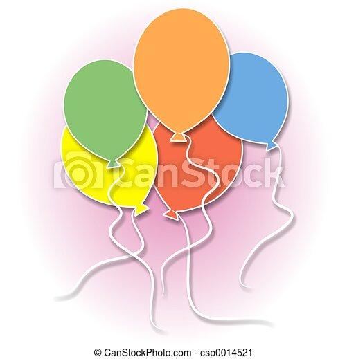 Balloons - csp0014521