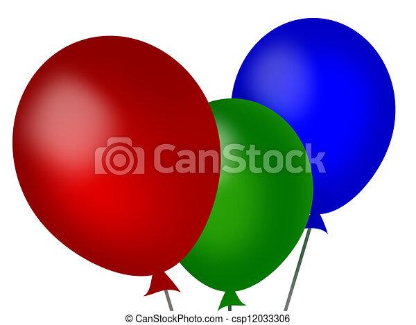 balloons - csp12033306