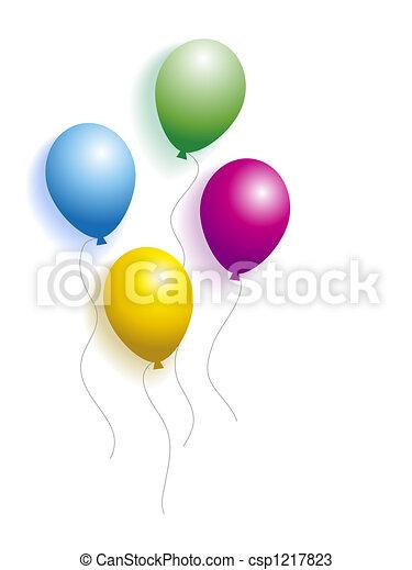 Balloons - csp1217823