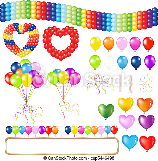 Balloons - csp5446498