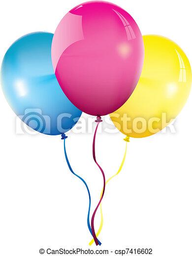 balloons - csp7416602