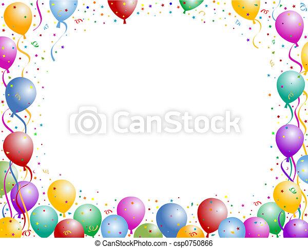 Balloons - csp0750866