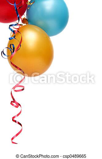 Balloons - csp0489665
