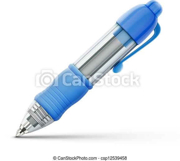 ballpoint pen  - csp12539458