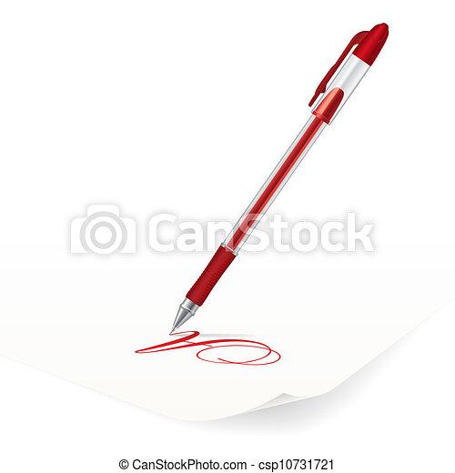 Ballpoint pen - csp10731721