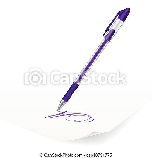 Ballpoint pen - csp10731775