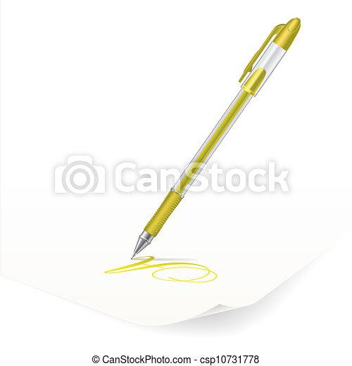 Ballpoint pen - csp10731778