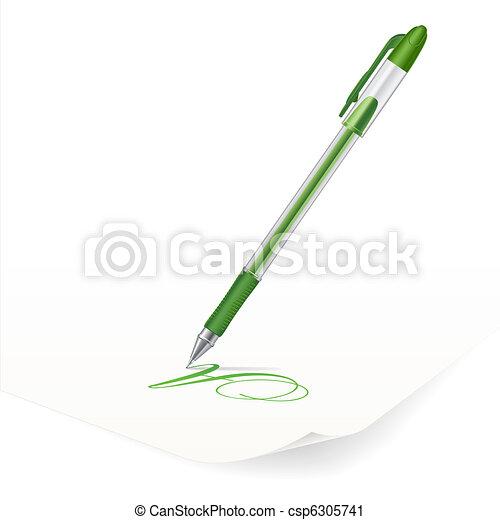 Ballpoint pen - csp6305741