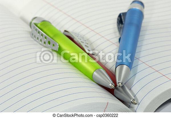 Ballpoint Pens - csp0360222