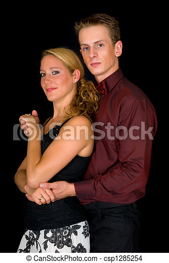 Ballroom dancers - csp1285254