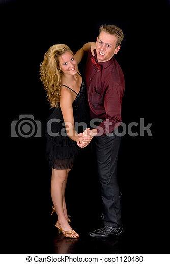 Ballroom dancers - csp1120480
