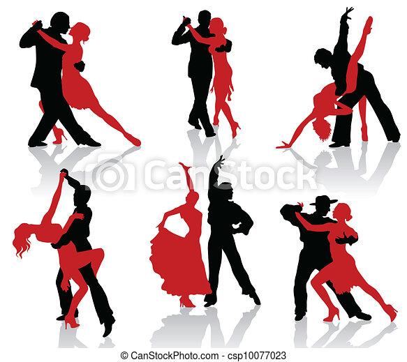 Ballroom dances. Tango - csp10077023
