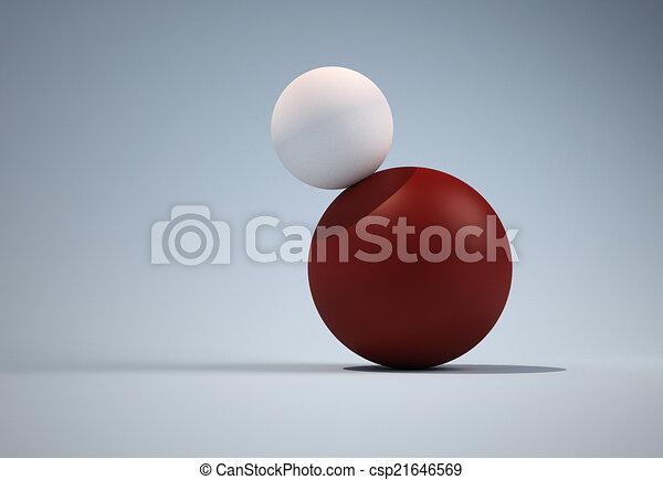 Balls in balance - csp21646569