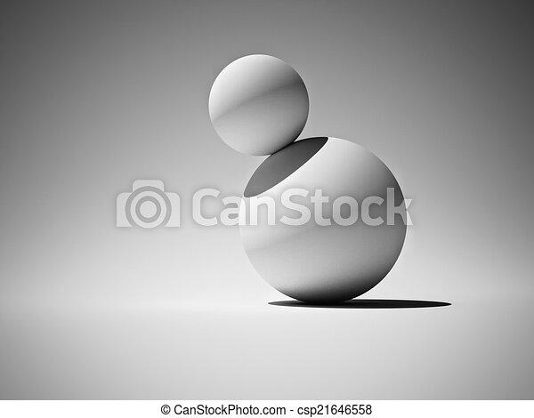 Balls in balance - csp21646558