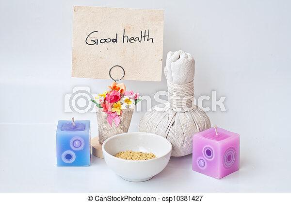 Spa y masaje para la buena salud - csp10381427
