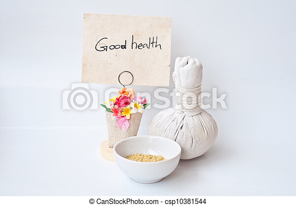 Spa y masaje para la buena salud - csp10381544