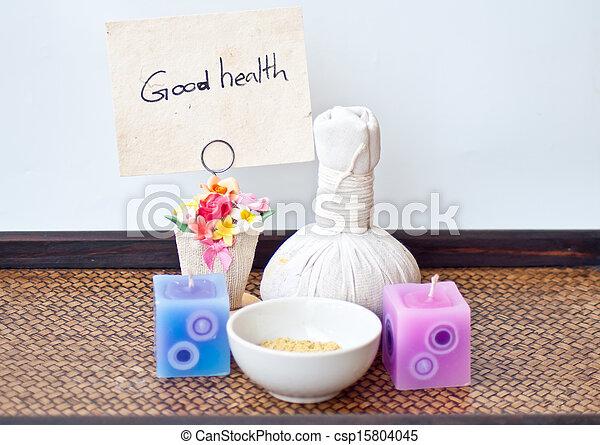 Spa y masaje para la buena salud - csp15804045