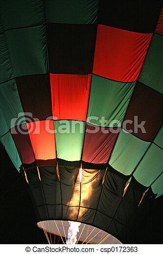baloon, chaud, 3, air - csp0172363