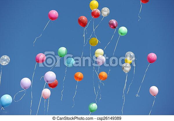 baloons - csp26149389