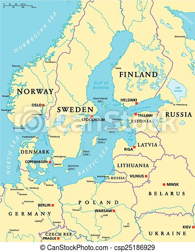balti tenger térkép Balti Tenger Térkép | Térkép