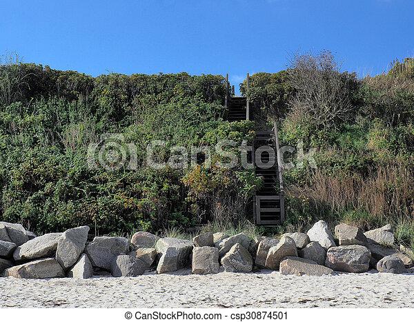 Baltic Sea Coast In Germany - csp30874501