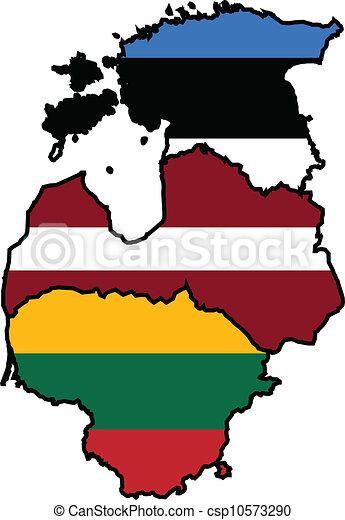 Baltic States - csp10573290