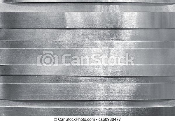 baluginante, striscie, metallo - csp8938477