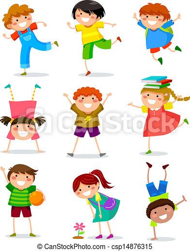 bambini, collezione - csp14876315