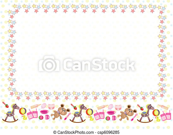 bambini, cornice - csp6096285