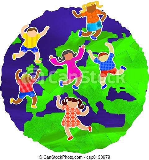 bambini, europeo - csp0130979