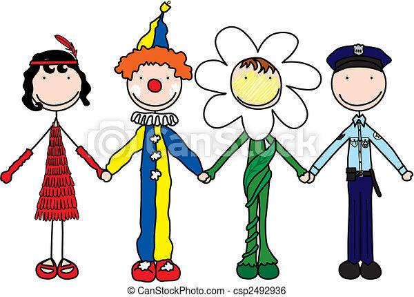 bambini, felice - csp2492936