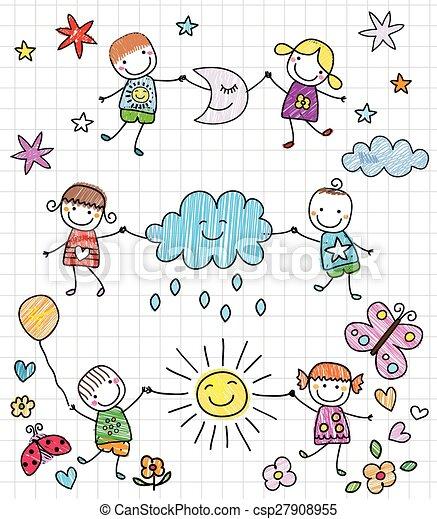 bambini, felice - csp27908955