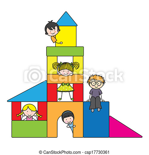 bambini giocando - csp17730361