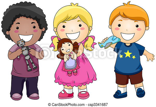 bambini, giocattoli - csp3341687