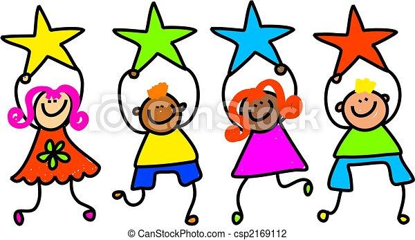 bambini, stella - csp2169112