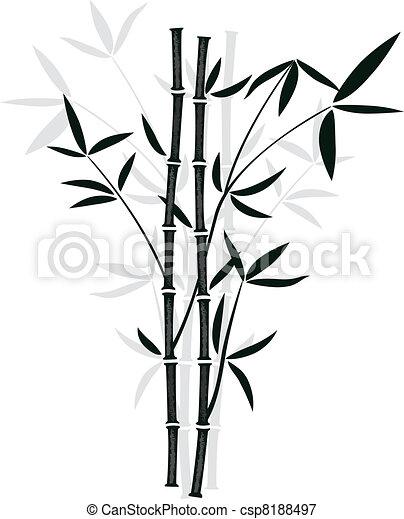bamboe, vector - csp8188497