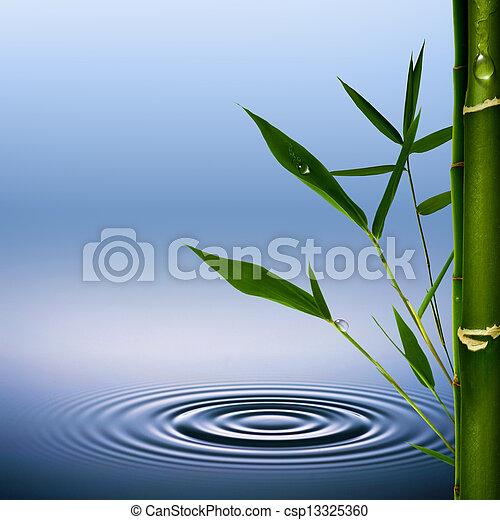 Bamboo. Abstract environmental backgrounds - csp13325360