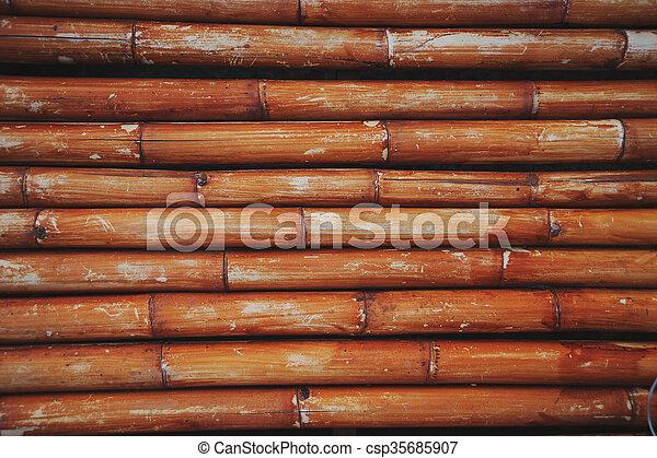 Bamboo background - csp35685907