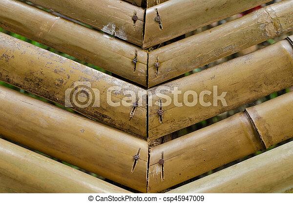 bamboo background - csp45947009