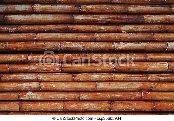 Bamboo background - csp35685934